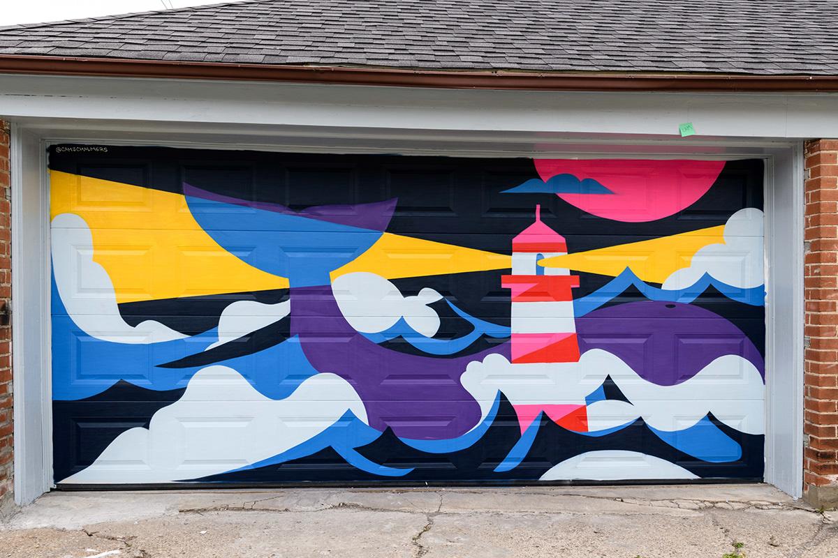 Street Art  ILLUSTRATION  painting   Aerosol Art design graphic design