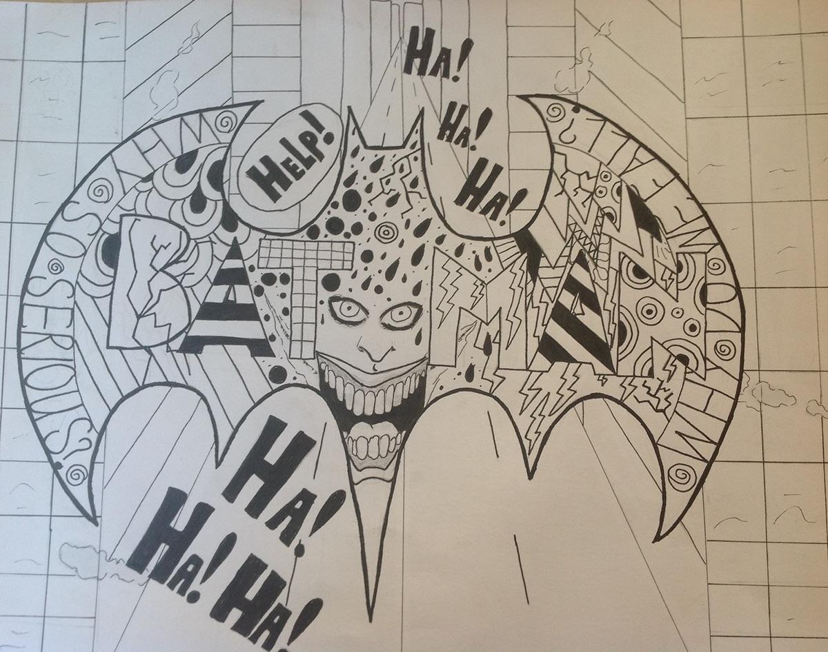 Tsm Doodle Batman On Behance