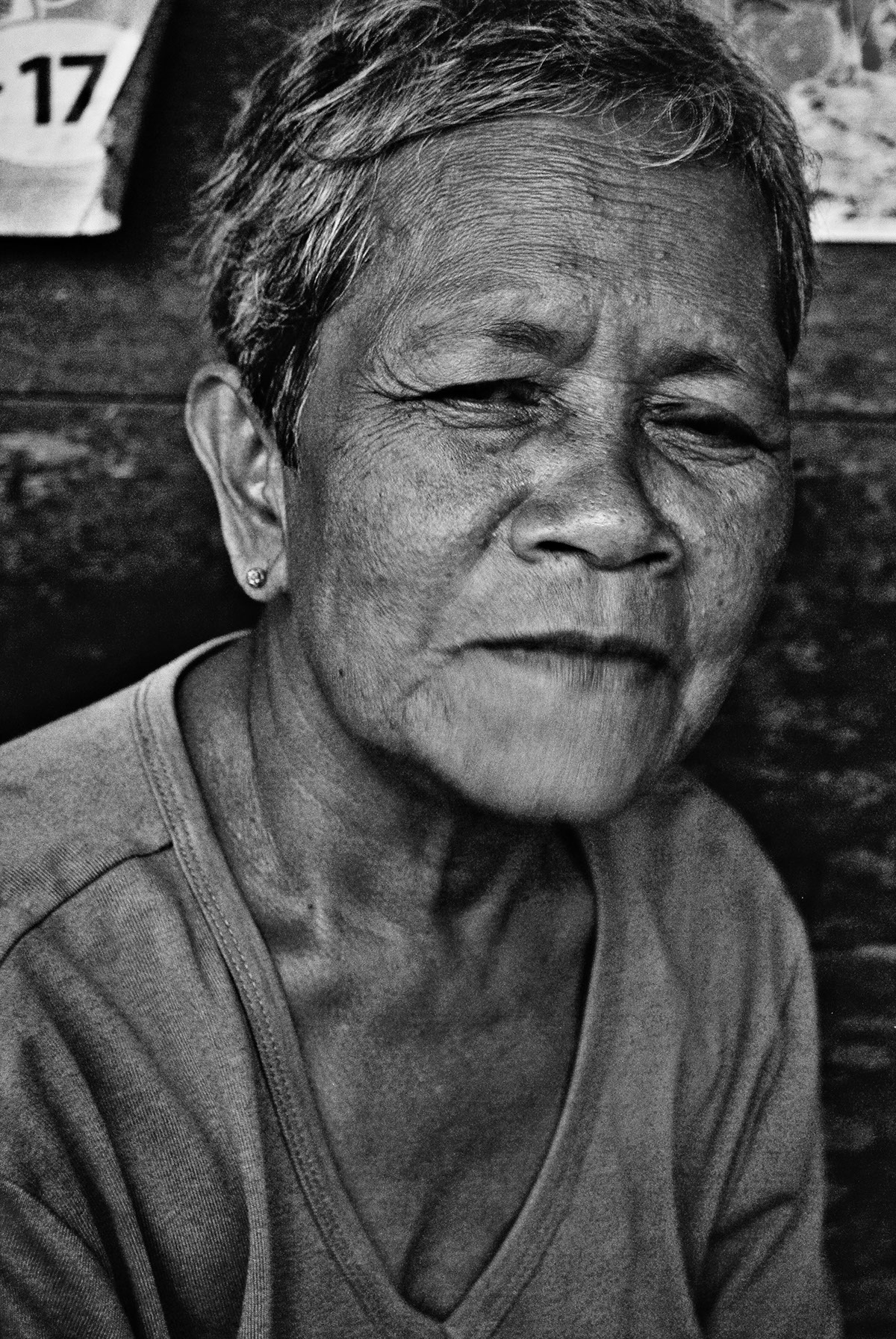 Black and white portrait of old people on behance