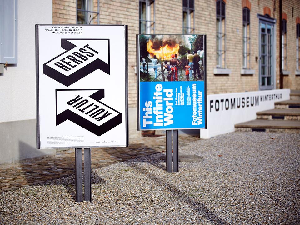 poster plakat b&w logo branding  arrow graphic design  kultur minimal typography