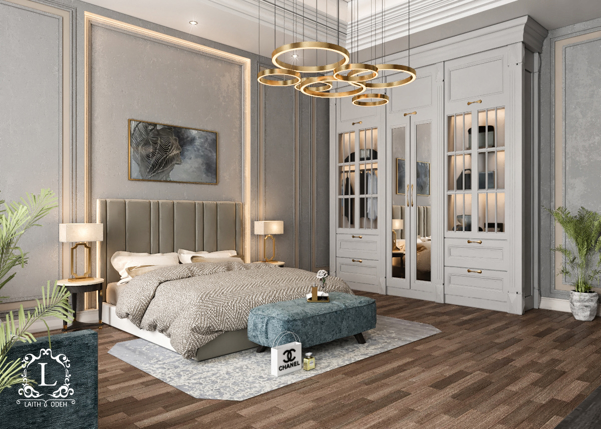 Master Bedroom Sketchup On Behance