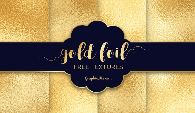 free gold foil textures to glam up your design projects on behance