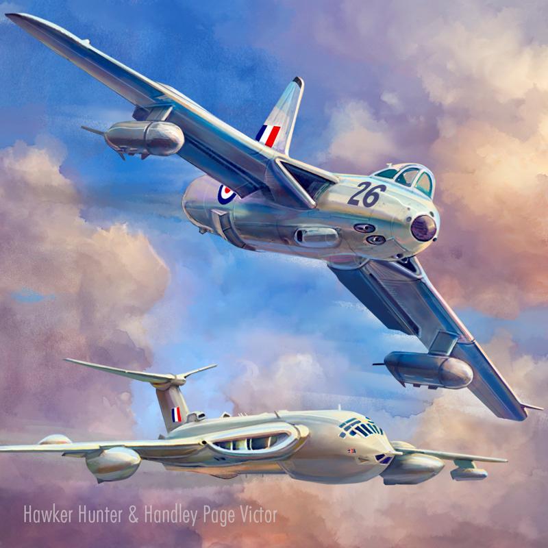 airforce airplane Digital Art  Drawing  history ILLUSTRATION  Military Retro vintage
