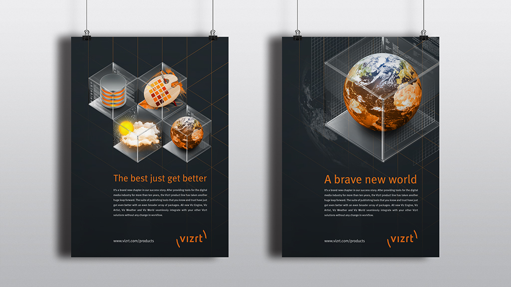 Vizrt Icons on Behance
