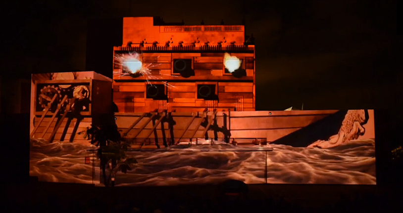 video mapping Mapping 3D 3d modeling projection live