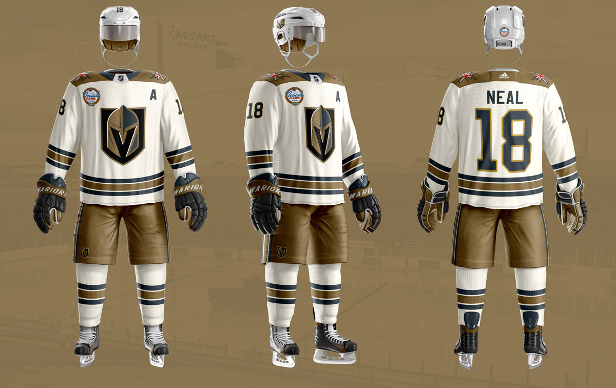 a23a56f6 Check out this absolutely incredible Golden Knights Winter Classic concept  jersey