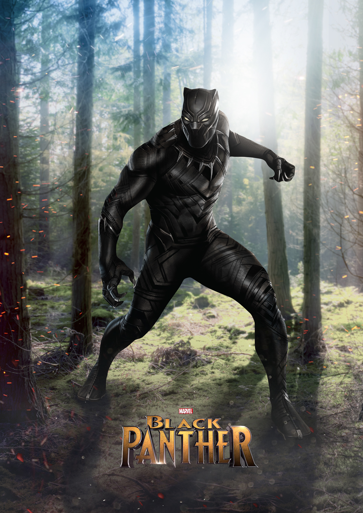 Black Panther Movie Poster Concept on Behance