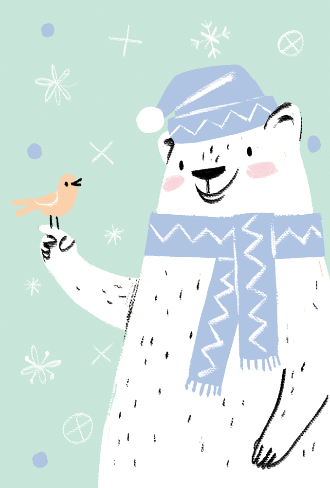Unicef Christmas cards on Behance