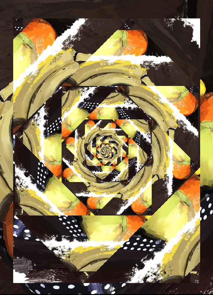 Adobe Photoshop arte digital bodegon diseño edición Glitch ilustracion pintura digital