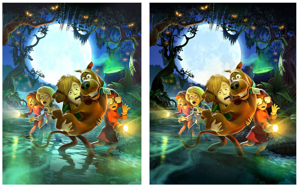 Scooby Doo And The Spooky Swamp On Behance