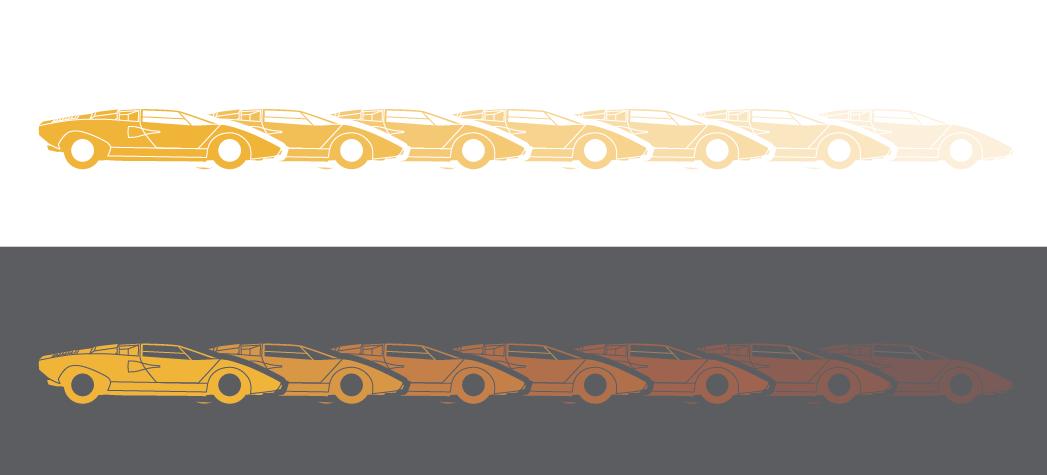 automotive   historical timeline lamborghini