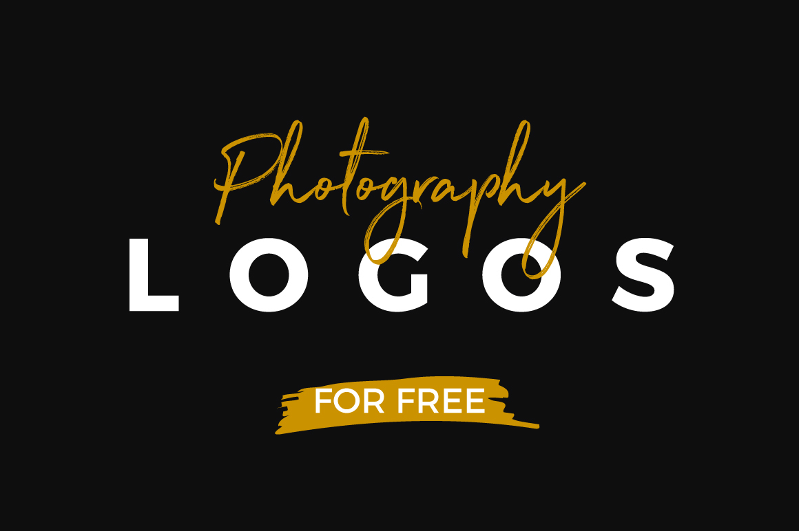 free logos 10 free photography logo templates on behance
