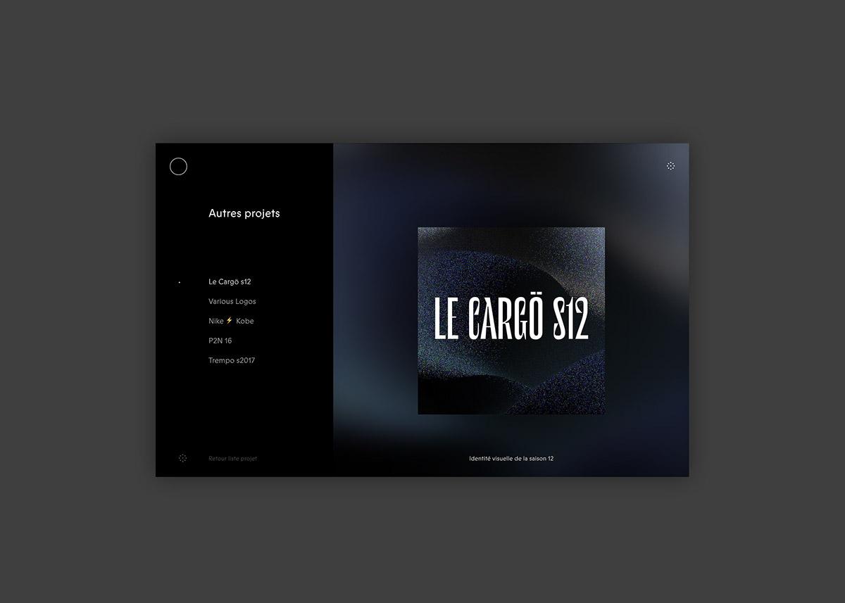 Website UI ux design graphic digital identity brand new murmure