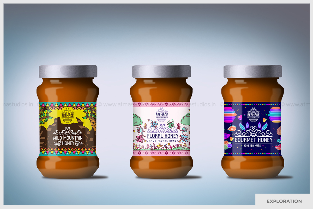 Bee Made - Premium Indian Honey Branding on Behance