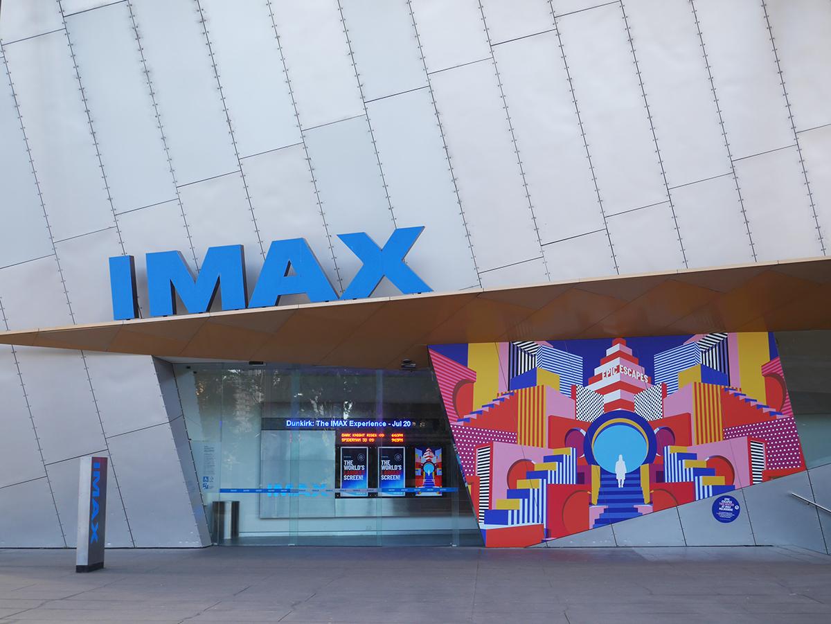 iMAX Cinema campaign Movies environmental