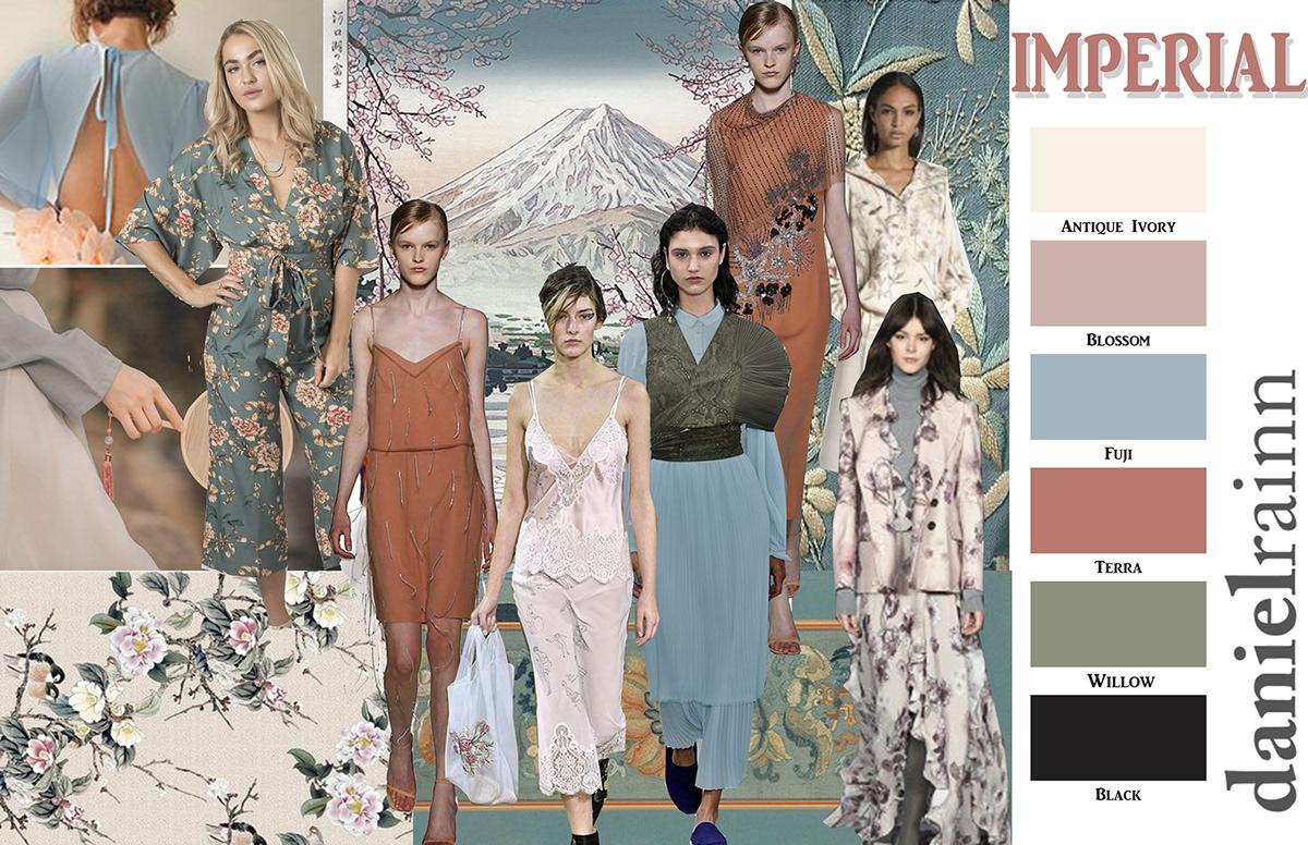 Daniel Rainn Fashion Mood Boards On Fidm Portfolio Gallery