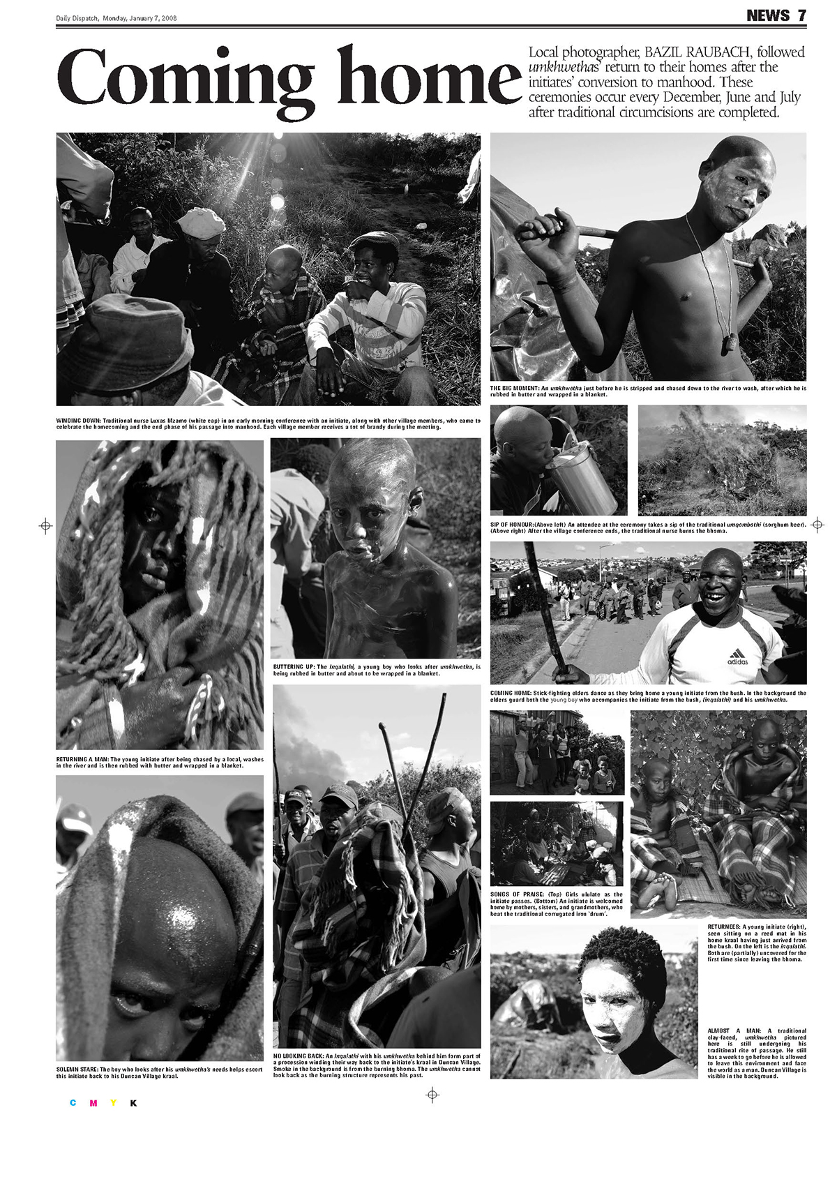 newspaper photo essay layouts