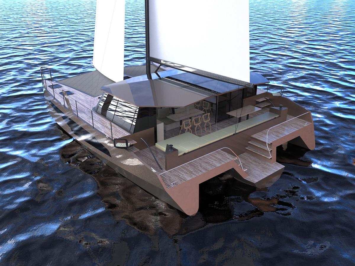 ENSAPLV naval architecture naval yacht boat Sail cruise trimaran