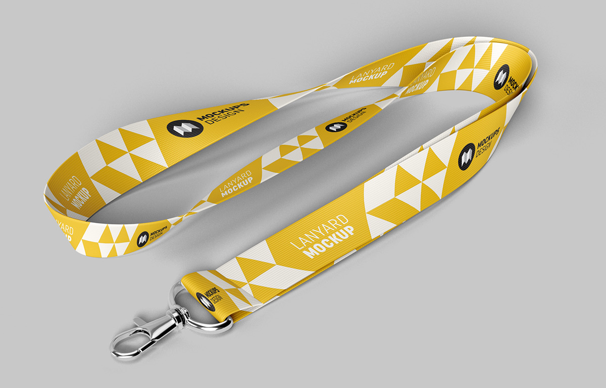 Free Lanyard Mockup On Behance - Free lanyard template
