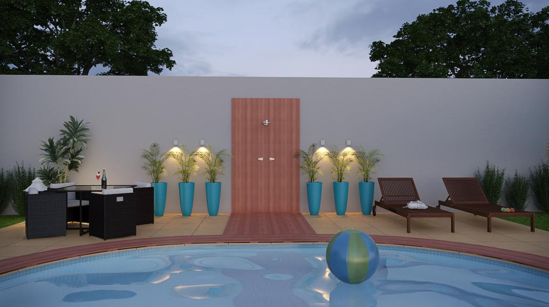 architecture area externa ARQUITETURA design piscina Pool projeto online