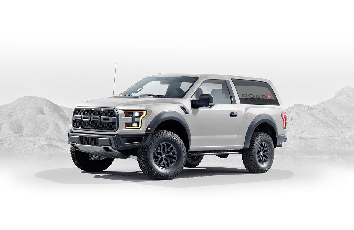 Ford Bronco Raptor >> 2020 Ford Bronco Concept on Behance
