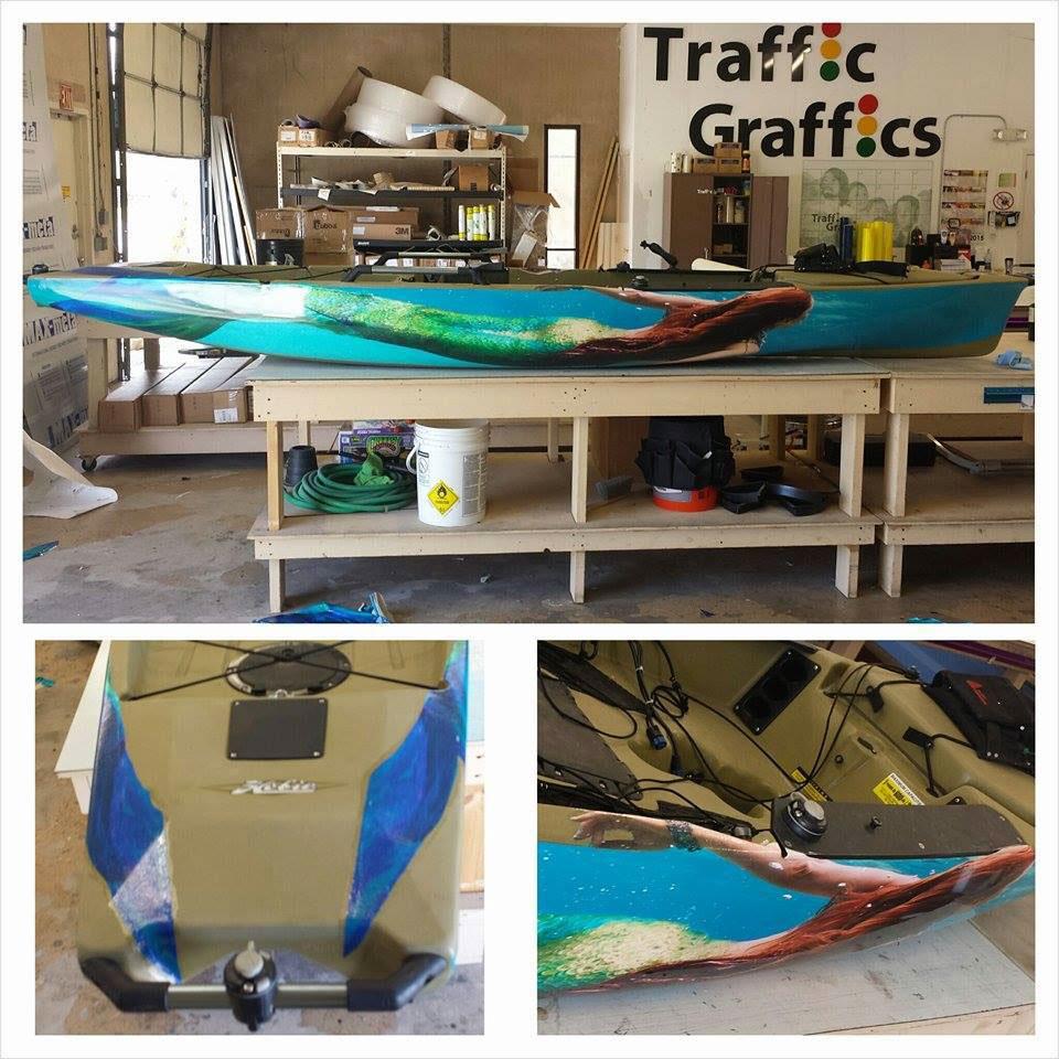 Kayak Custom Wrap On Behance - Pool table wraps