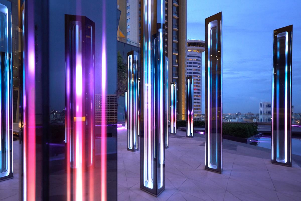 artwork infinity interactive led