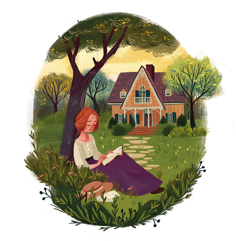 anne of green gables Anne with an E Beatriz book cover childrens book Livro livro infantil Mayumi Netflix Picture book