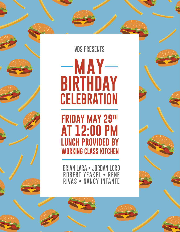Birthday lunch invitation on behance filmwisefo