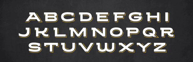GCDC Grilled Cheese Bar Restaurant Branding, Custom Lettering, Washington, DC