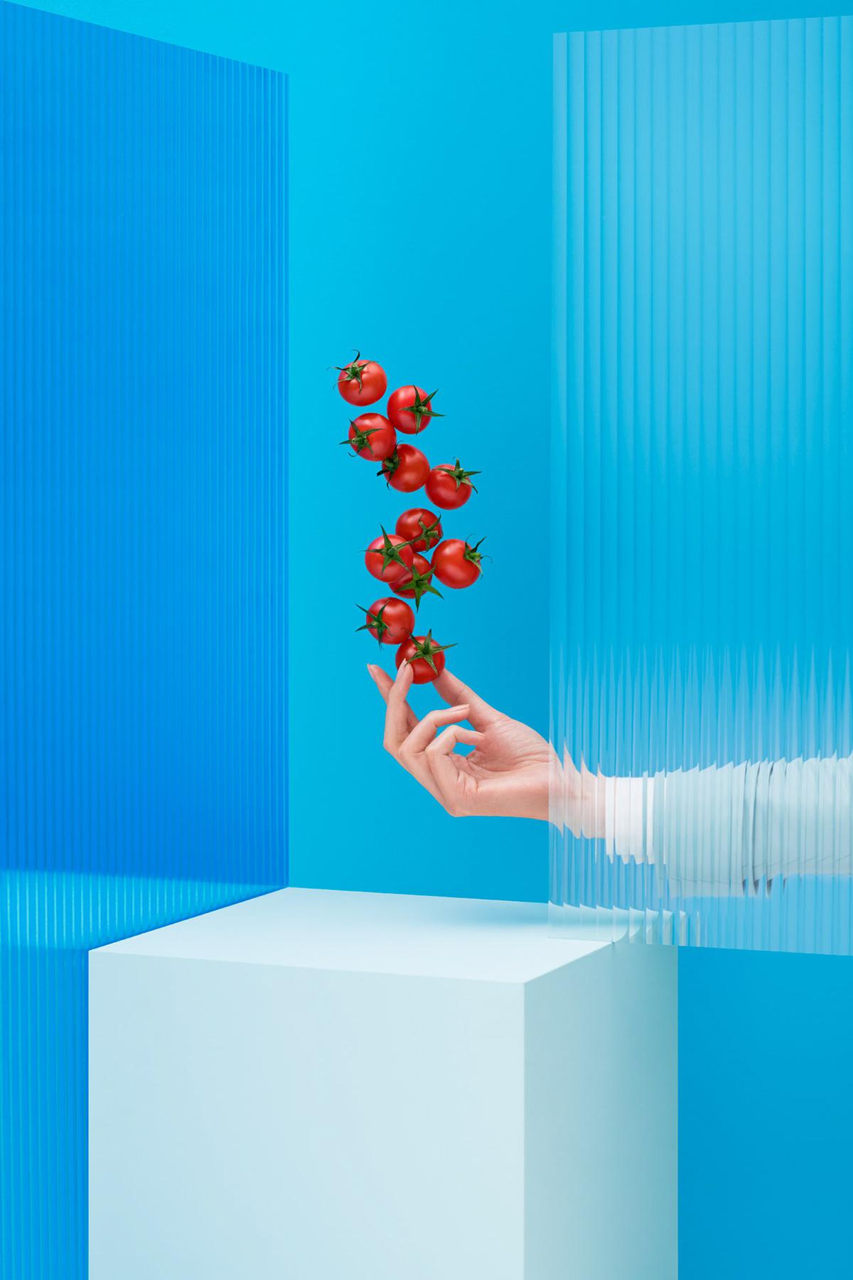 Photography  art direction  set design  china korean air go korean Advertising  blue
