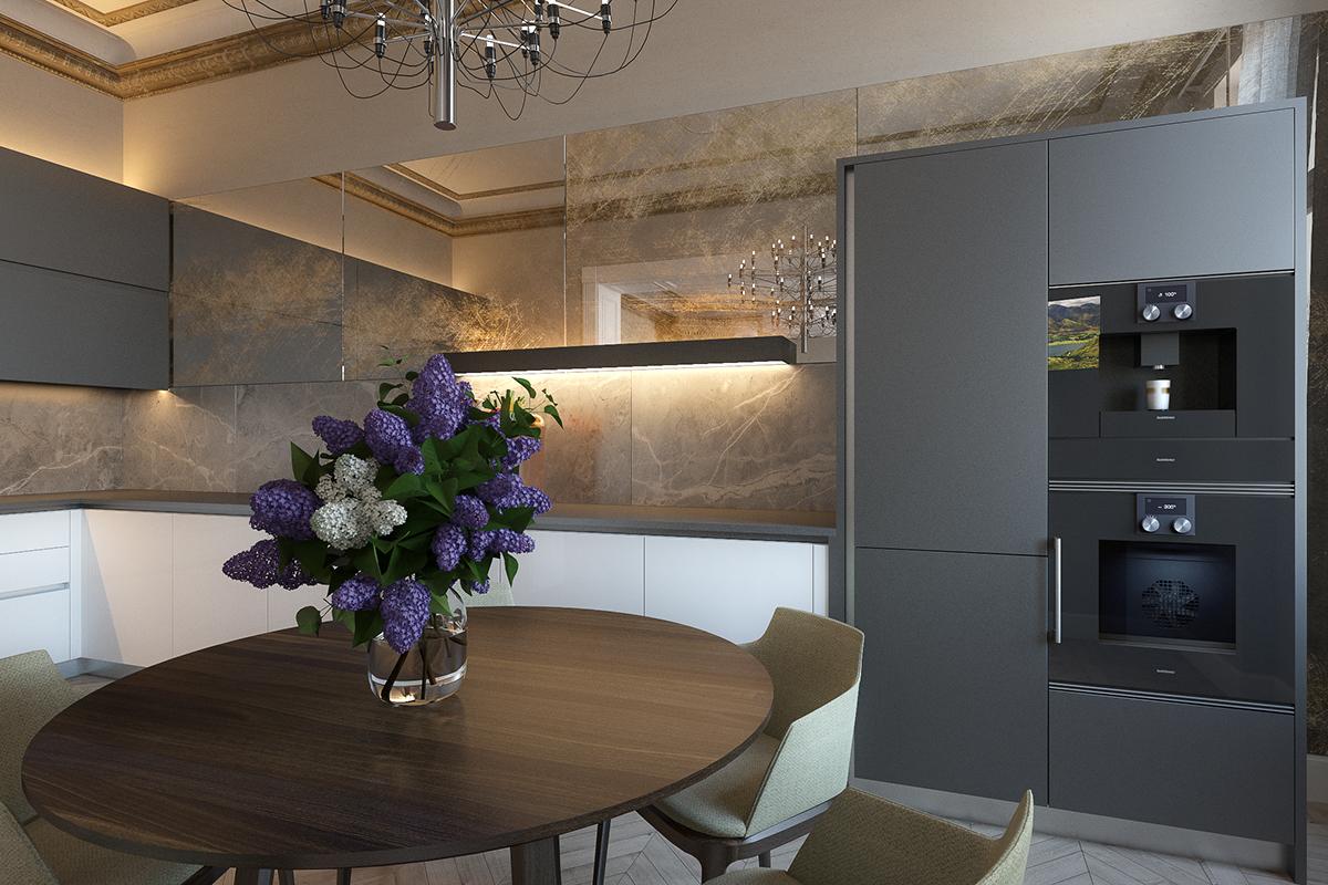 Apartment in Riga. on Behance