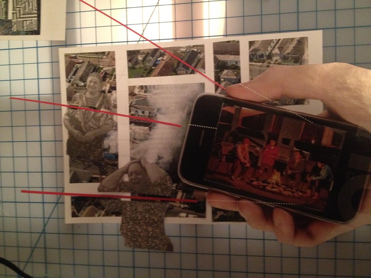 GDES1315 Newspaper Collage collage