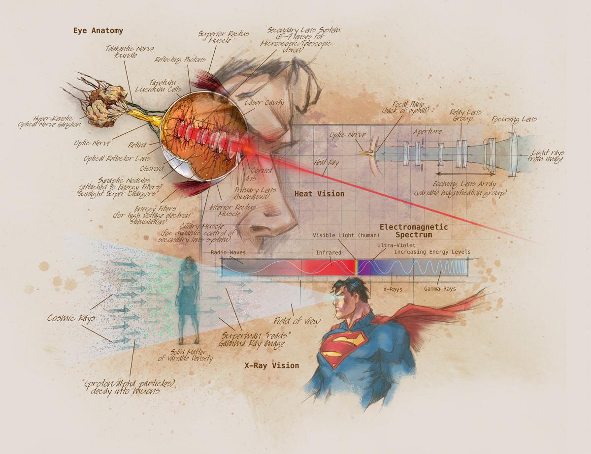 Anatomy of a Metahuman Coffee Table book on Behance