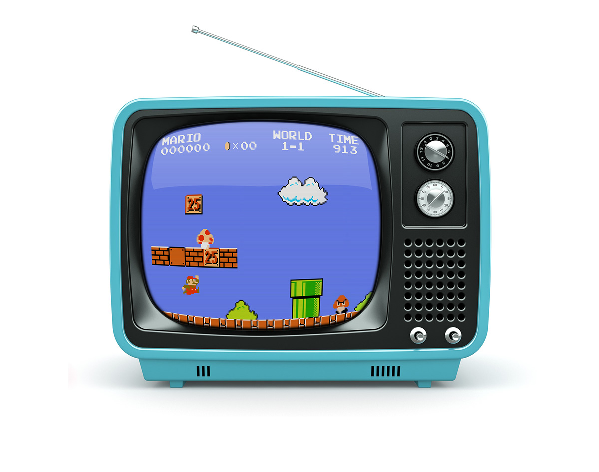 Mockup psd mockup free old tv