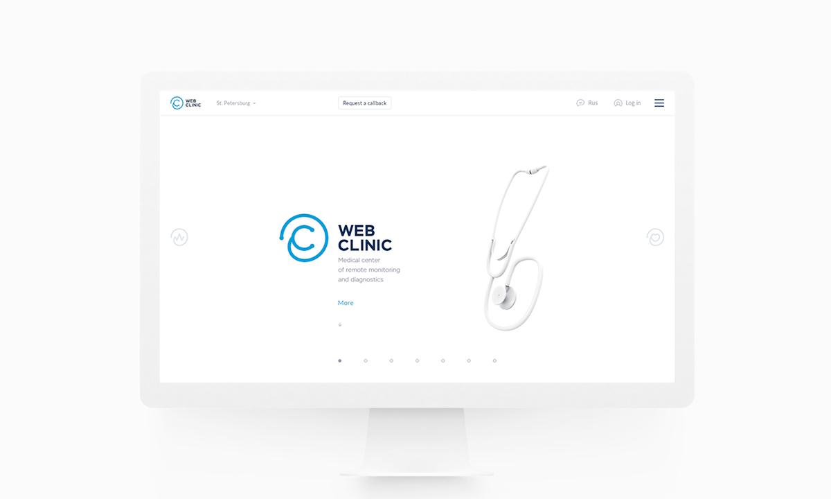 clinic webclinic medicine hospital Med Health minimal service site Web