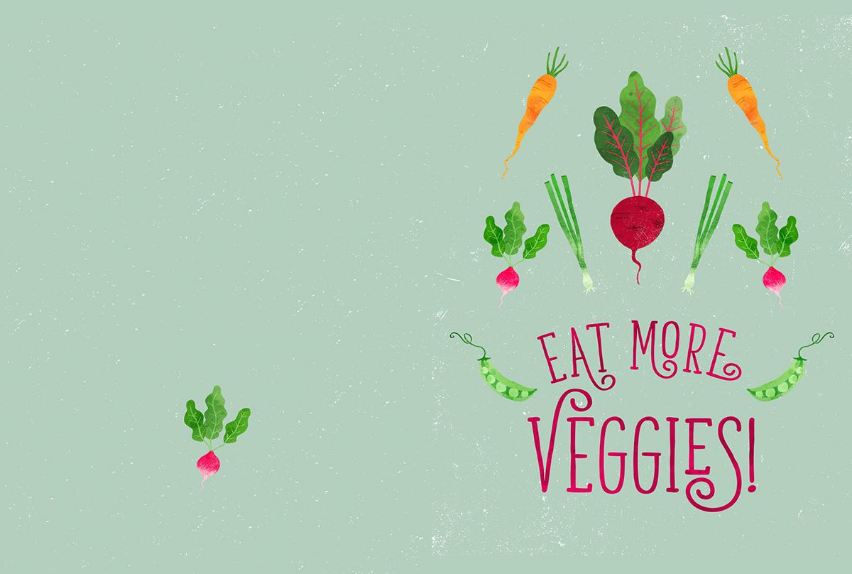 veggies vegetables cookbook food illustration pattern design  surface design Food  society6 vegan Vegetarian