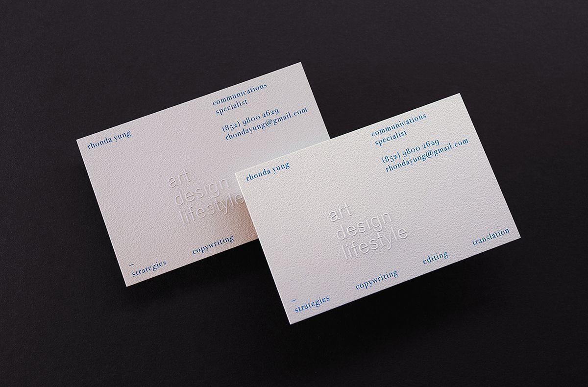 Business Card For The Communications Specialist On Behance