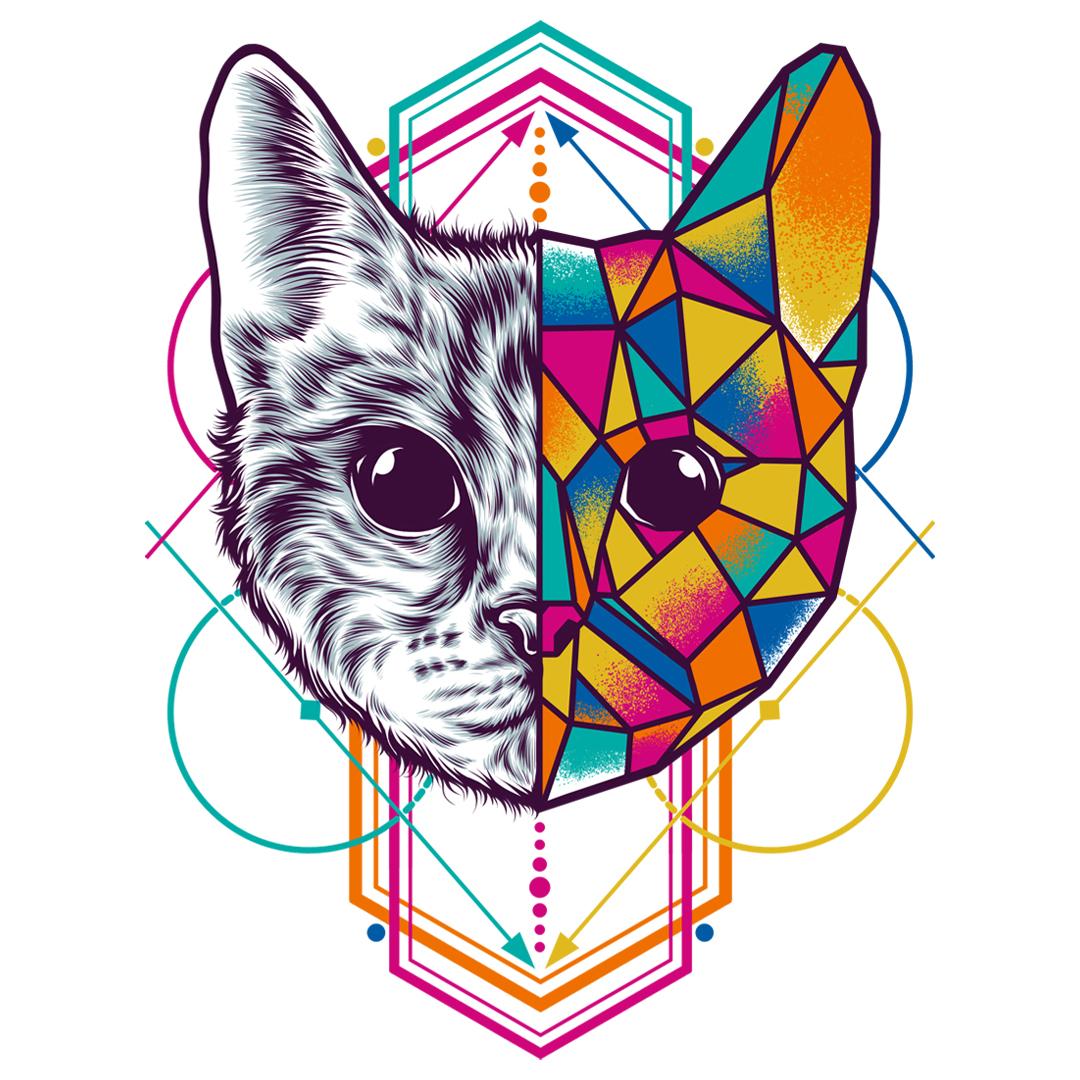 how to make geometric animals