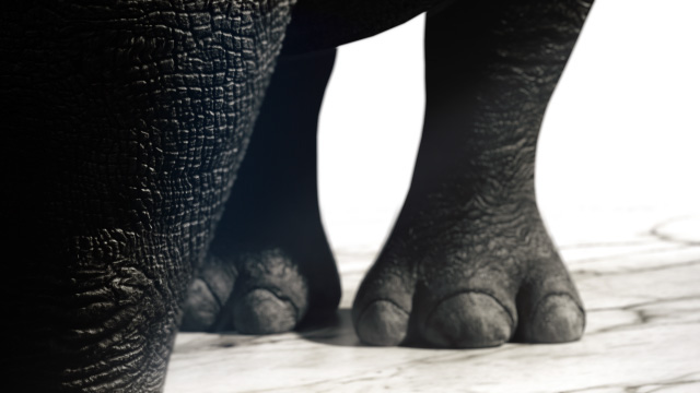 Nike Rhino Mockup motiongraphics cinema4d octane