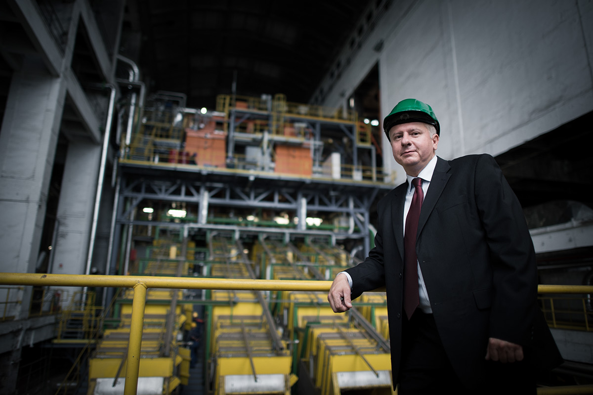 portrait industrial Businessportrait