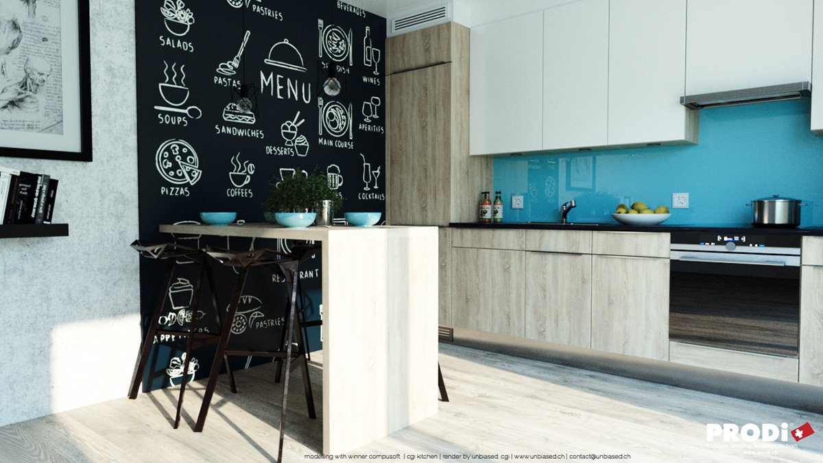 CGI KITCHEN#8238 (realistic approach 6) on Behance