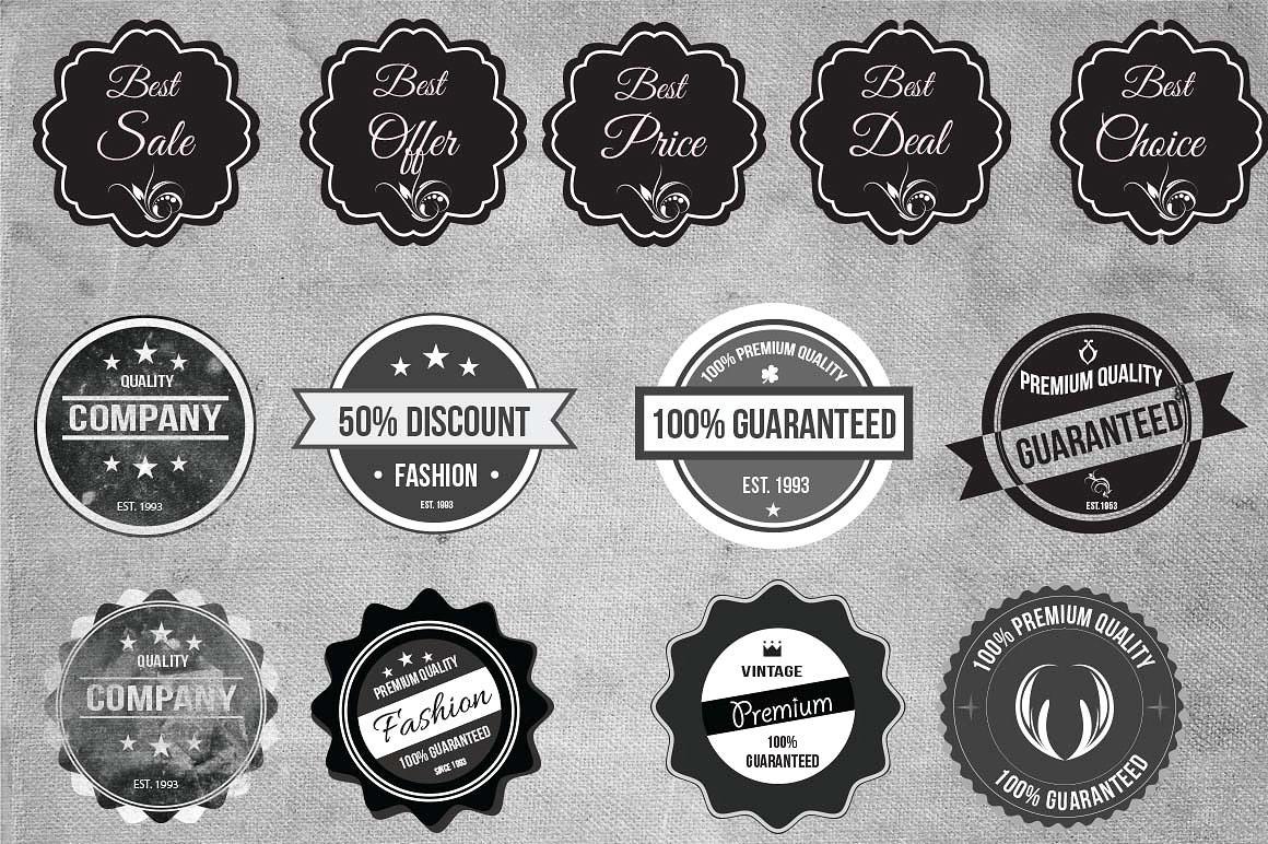 Free 84 Elegant Vintage Insignia Logo Templates on Student Show