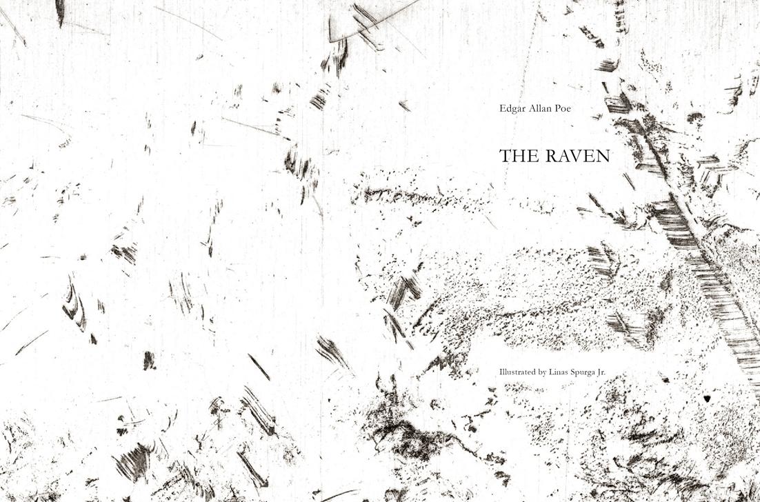 Edgar allan Poe raven varnas etching poem vilnius lithuania book