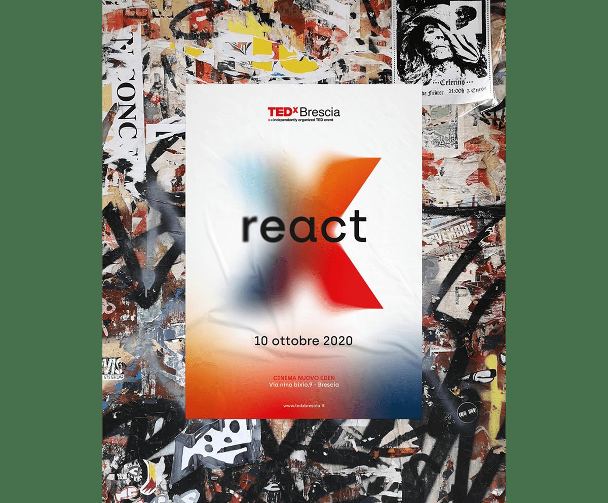animation  art direction  branding  design Event graphic design  logo mock up TEDx tedx brescia