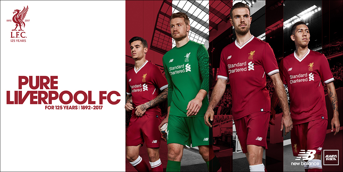 innovative design 49b5a aa037 Liverpool FC 17-18 Home Kit Launch Key Art on Behance