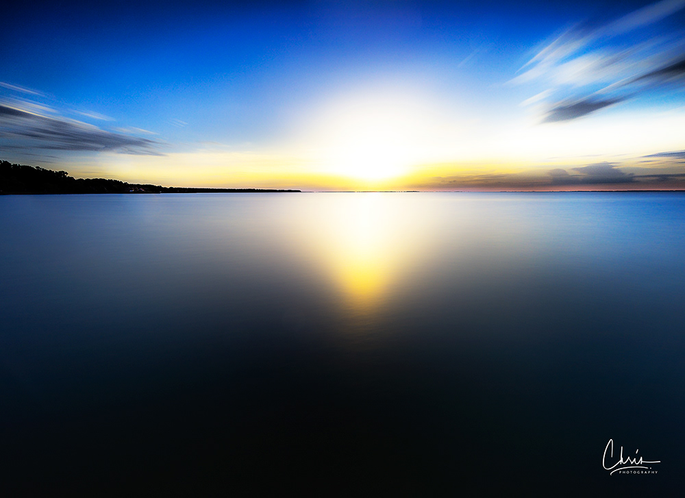 Image may contain: water, lake and sky
