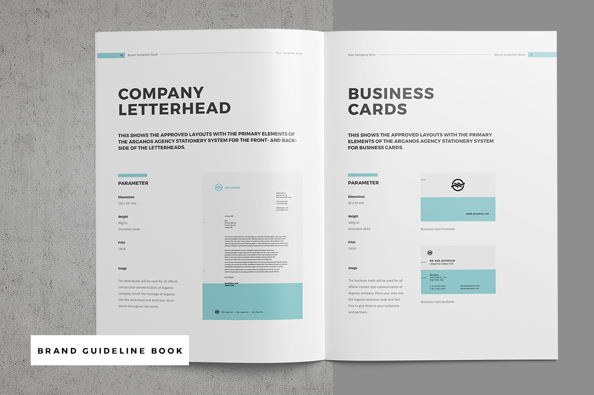 Brand guideline book on behance click to download the brand manual guideline book spiritdancerdesigns Choice Image