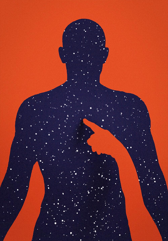 cosmos DENTRO espacio Interior mente micromoscos travesía universo viajar viaje