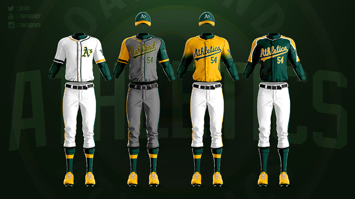 size 40 a7419 f84b1 MLB Jerseys Redesigned on Behance